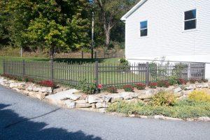 Regis aluminum fence brand for residential