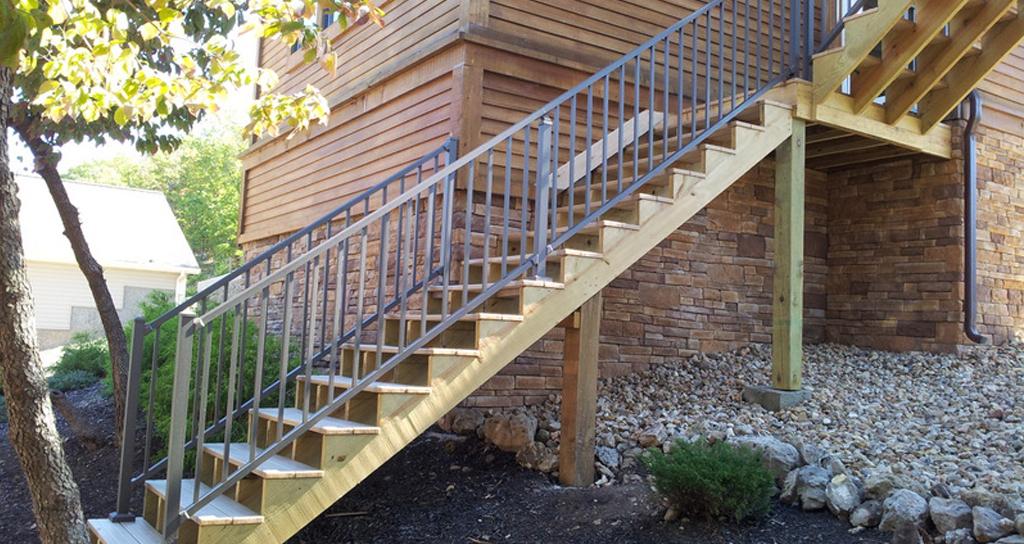 best aluminum deck railing in pa