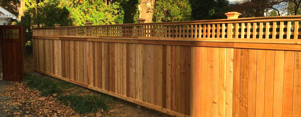 beautiful fence inspiration for Cedar fence