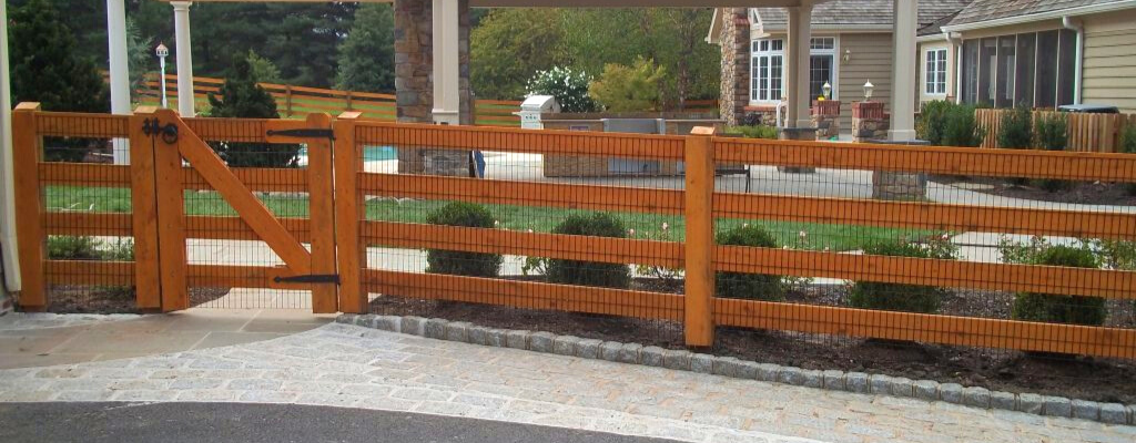 Inspiring fence installation in West Chester PA