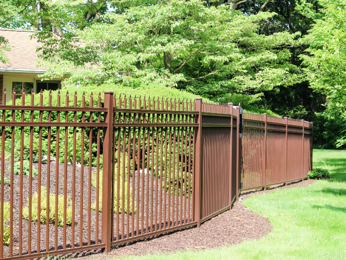 aluminum fence ideas