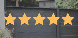 5-Star Wood Fence Installation