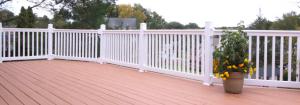 vinyl railing installation