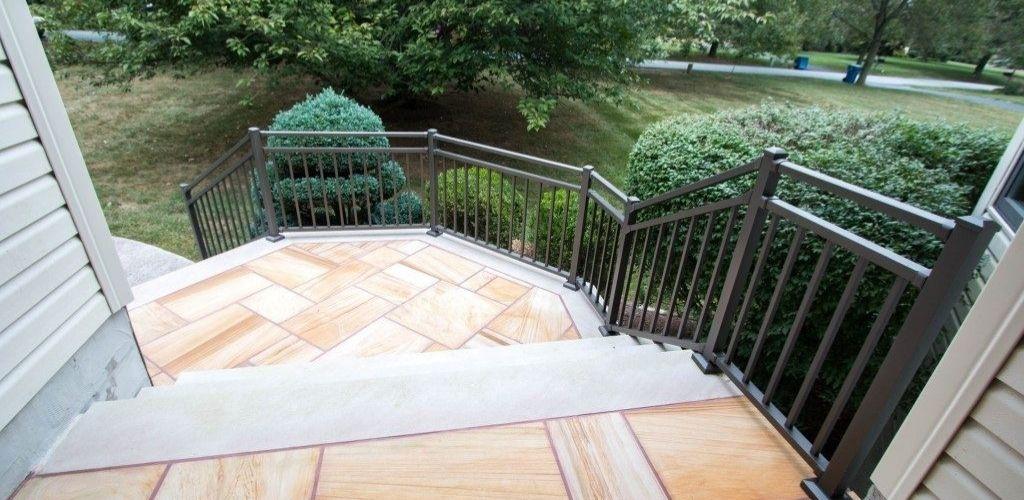 porch railing type aluminum